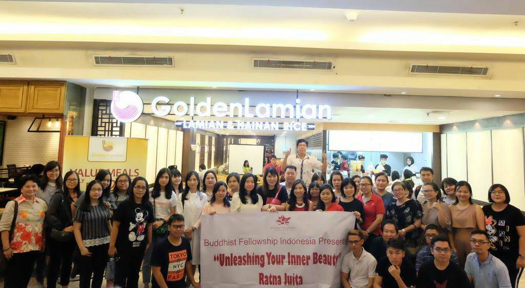 "Seminar ""Unleashing Your Inner Beauty"" yang diselenggarakan oleh Buddhist Fellowship Indonesia di Golden Lamian, Citywalk Sudirman, Jakarta: Sabtu, 14 Juli 2018."